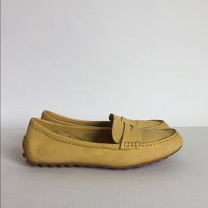 Born Yellow Leather Loafers size 7M